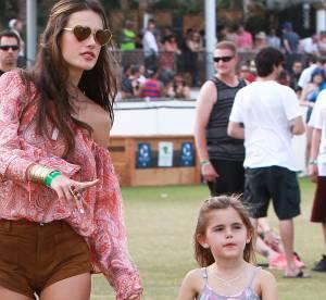 Alessandra Ambrosio: sa fille Anja à Coachella crée une polémique
