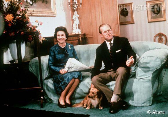 Nous aussi on veut apporter le thé à la reine et son journal au Prince Philip.