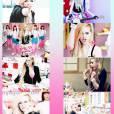 Histoire d'en remttre une couche, Avril Lavigne a aussi posté des captures d'écrans de son clip Hello Kitty.