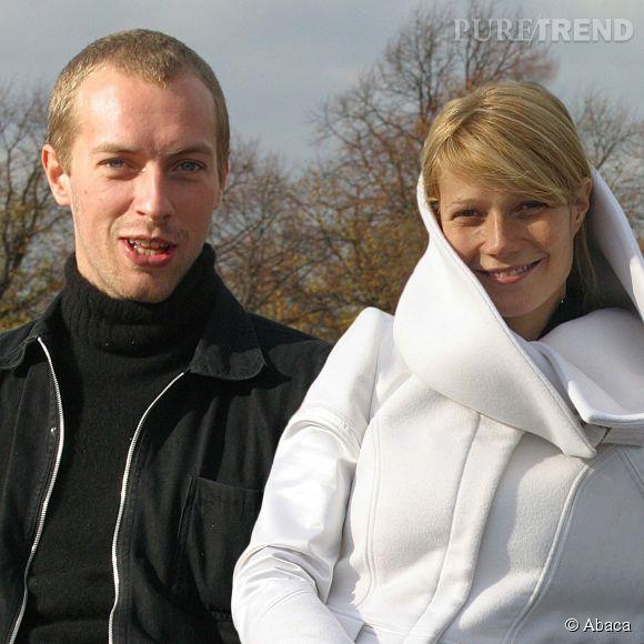 Chris Martin et Gwyneth Paltrow en 2003.