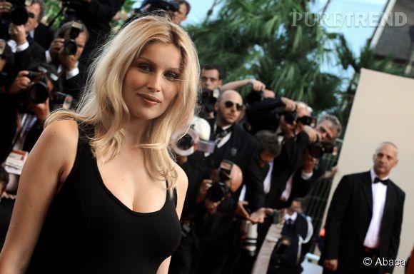 Laetitia Casta enceinte à Cannes : sobre, élégante et sexy.