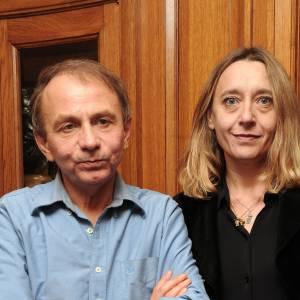 Michel Houellebecq aime les femmes intelligentes. Ici en novembre 2010 avec la talentueuse Virginie Despentes.