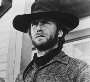 """Clint Eastwood, le cowboy barbu (dans """"L'homme des hautes plaines"""")."""