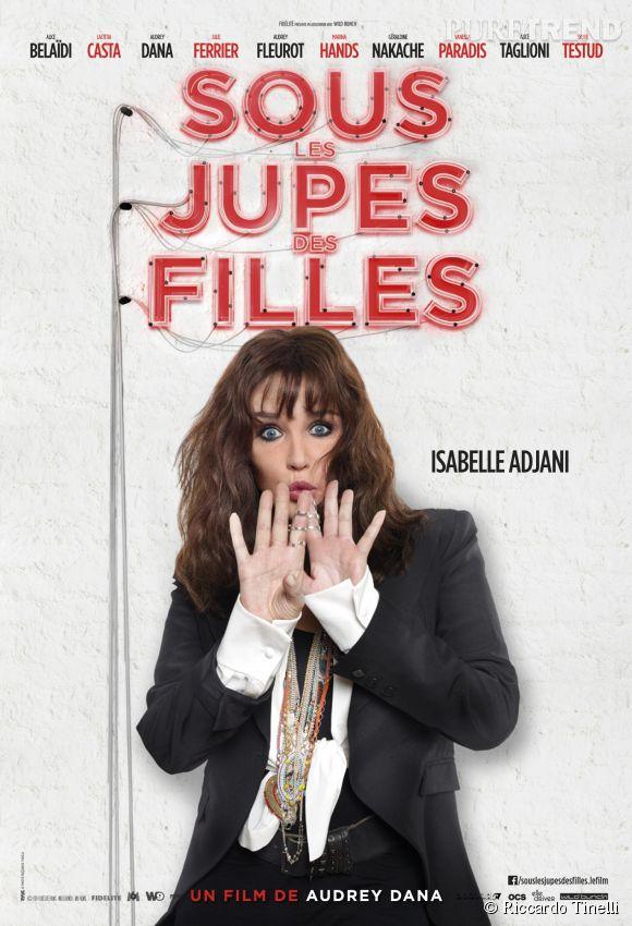 """Isabelle Adjani dans """"Sous les jupes des Filles"""" qui sortira en salles le 4 juin 2014."""