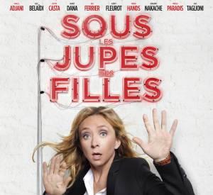 """Sylvie Testud dans """"Sous les jupes des Filles"""" qui sortira en salles le 4 juin 2014."""