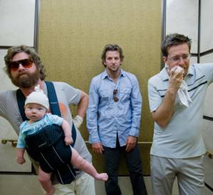 """Very Bad Trip"" avec Bradley Cooper, Ed Helms, Zach Galifianakis."