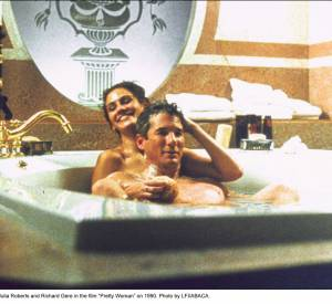 "Richard Gere et Julia Roberts dans ""Pretty Woman"" en 1990."