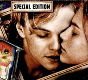 """Claire Danes et Leonardo DiCaprio dans """"Romeo + Juliette"""" en 1997."""