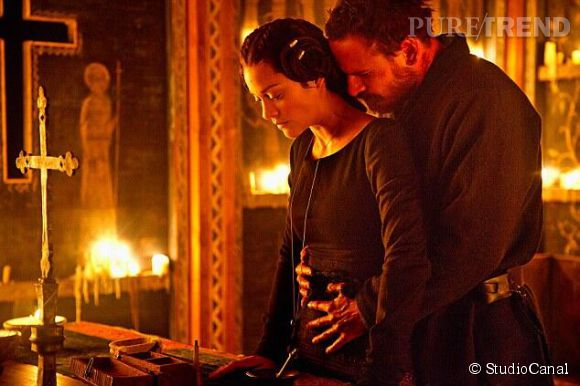 "Marion Cotillard et Michael Fassbender dans ""Macbeth"" de Justin Kurzel."