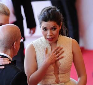 Cannes 2014 : America Ferrera, à peine émue par son 'agression' sur tapis rouge