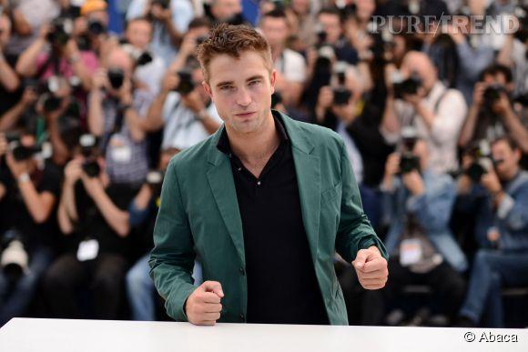 Robert Pattinson à Cannes en mai 2014.