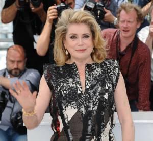 Catherine Deneuve : sa robe ferait presque concurrence à Marion Cotillard !