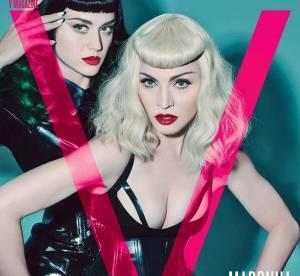 Katy Perry et Madonna, à moitié nues et en pleine séance SM pour V Magazine