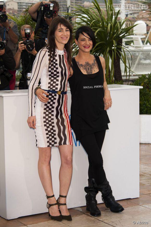 Asia Argento et Charlotte Gainsbourg pour L'incomprise.
