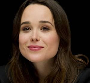 """Ellen Page à la conférence de presse du film """"X-Men : Days of Future Past"""", le 9 mai 2014, au Ritz-Carlton à New York."""