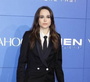 """Ellen Page à la première du film """"Days of Future Past"""" le 10 mai 2014, à New-York."""
