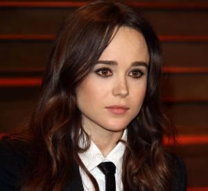 Ellen Page à la soirée Vanity Fair après la cérémonie des Oscars le 2 mars 2014.