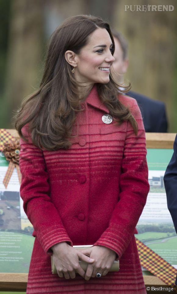 Kate Middleton à la fête de Forteviot le 29 mai 2014.