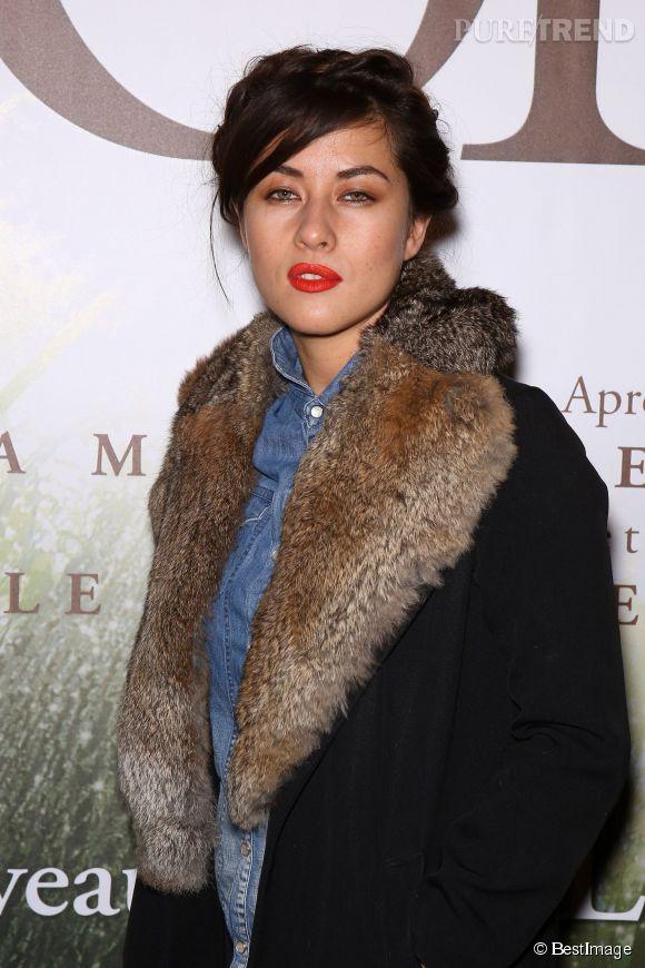 Mylène Jampanoï sera bientôt maman. Elle voudrait se rapprocher du cinéma français.