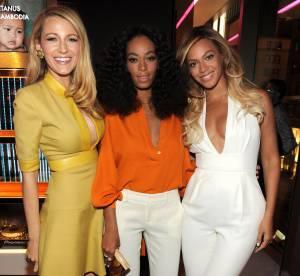 Beyoncé, Solange Knowles, Blake Lively : 3 décolletés pour 3 bombes