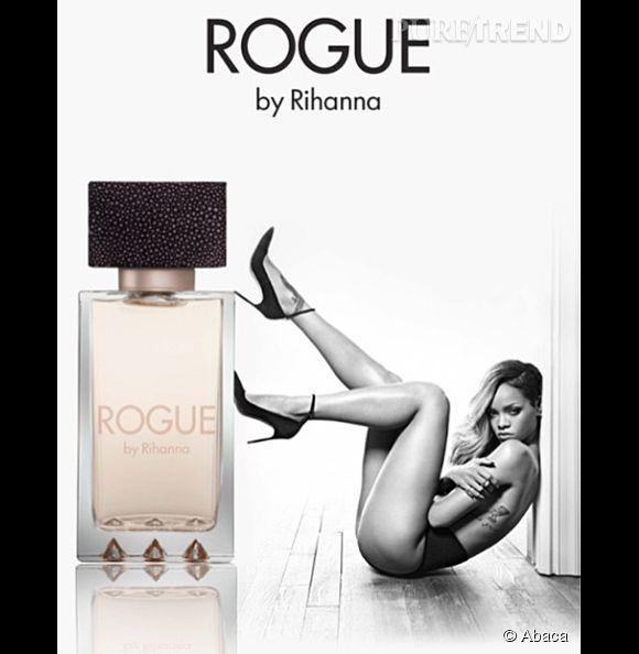 Rihanna sort son parfum Rogue en 2014.