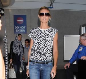 Heidi Klum : jean et talons hauts, le look sauvage qu'on lui pique !