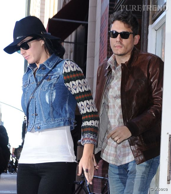 Katy Perry et John Mayer en 2012.