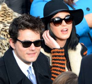 John Mayer et Katy Perry en 2013.