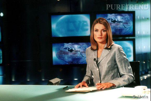 Letizia Ortiz est journaliste télé en 2003.