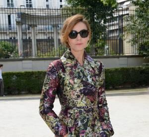 Clotilde Courau : Princesse et gravure de mode pour Valentino