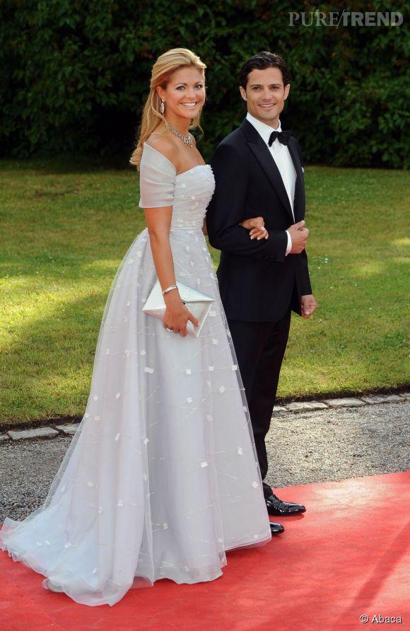 Madeleine de Suède et Carl Philip de Suède en 2010.