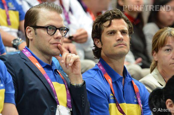 Danioel Westling et Carl Philip de Suède en 2012.