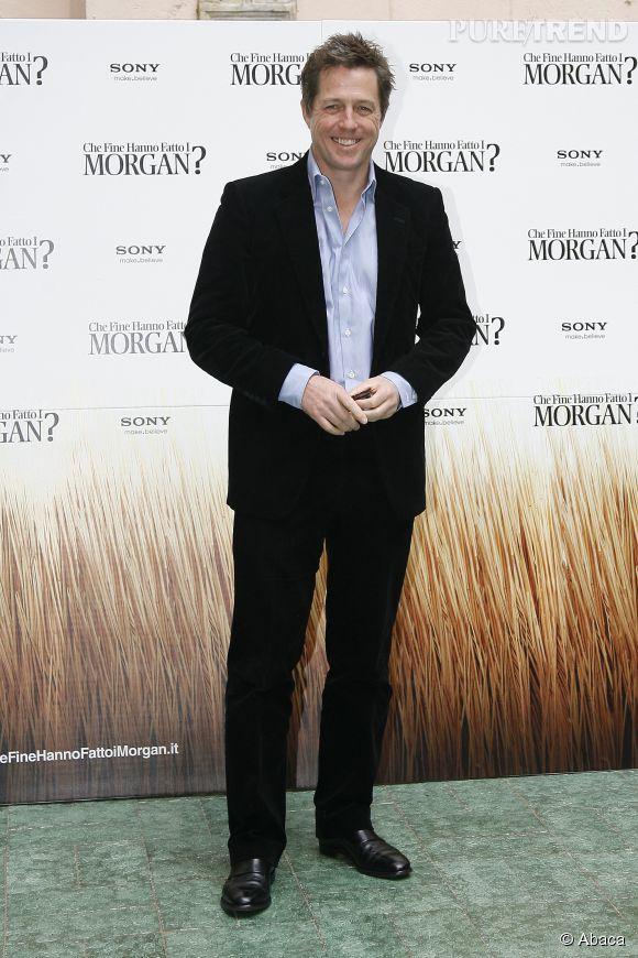 Hugh Grant, l'éternel séducteur.