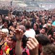 Près de 80 000 personnes se sont mis à huer en même temps Christine Boutin au stade de France le 27 juin 2014.