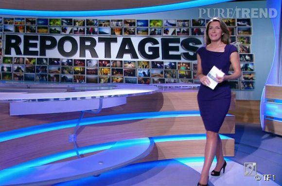 Avant d'intégrer l'équipe du JT de TF1, Anne-Claire Coudray a fait ses armes avec l'émission Reportages.