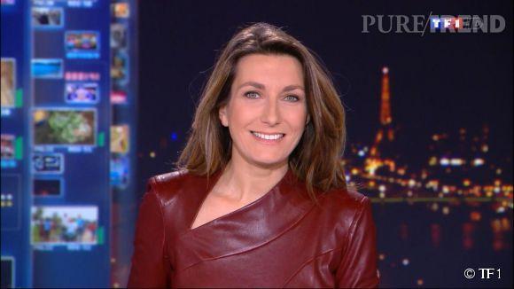 Anne-Claire Coudray est devenue le joker de Claire Chazal sur TF1 depuis 2012.
