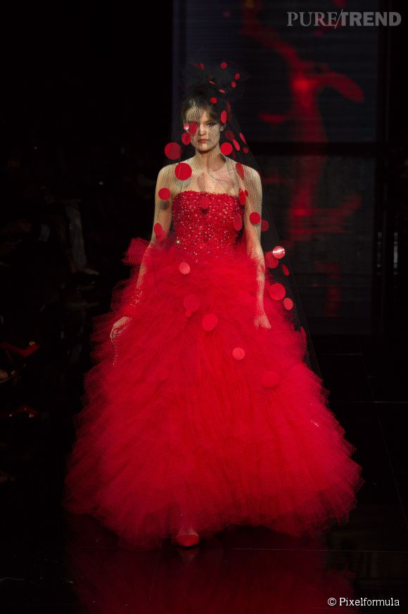 Défilé Armani Privé Haute Couture Automne-Hiver 2014/2015.