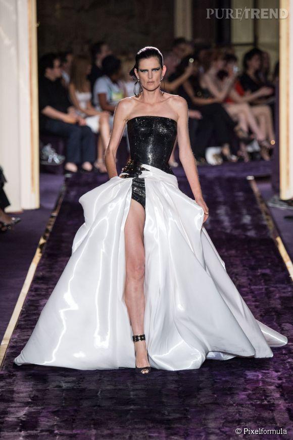 Défilé Atelier Versace Haute Couture Automne-Hiver 2014/2015.