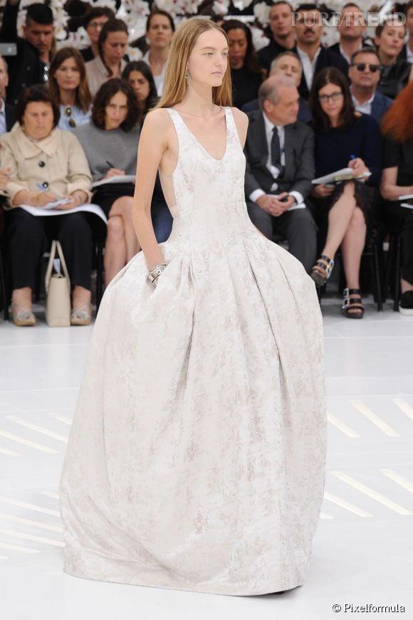 Défilé Christian Dior Haute Couture Automne-Hiver 2014/2015.