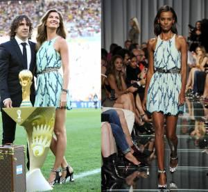 Gisèle Bundchen vs Podium : la petite robe Louis Vuitton de la Coupe du Monde