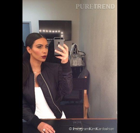 Pour devenir comme Kim Kardashian, n'oubliez jamais votre selfie quotidien.