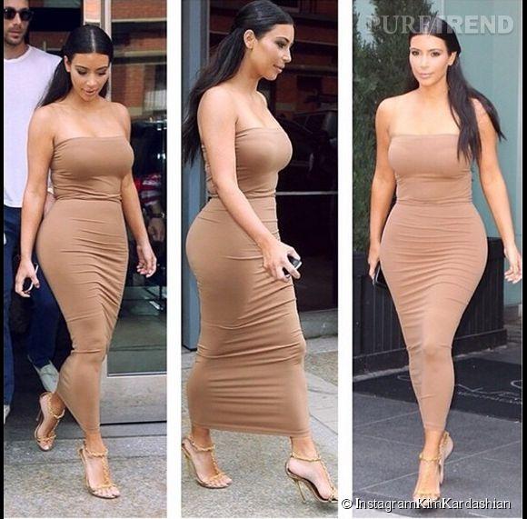 Il ya trois semaines Kim Kardashian postait ce look (réussi selon elle) sur Instagram. A-t-on vraiment besoin de ses conseils mode?
