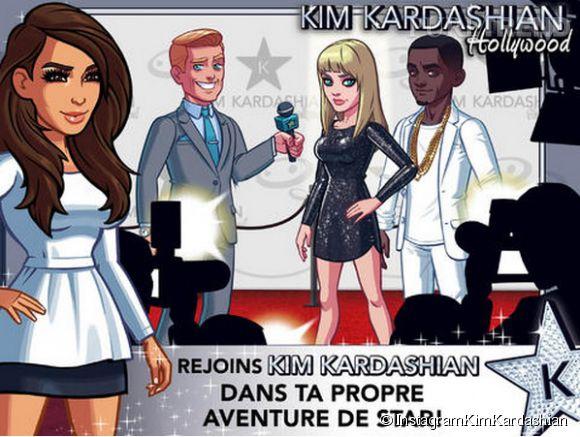 Kim Kardashian donne des conseils à ses fans qui souhaitent devenir des stars, grâce à sa nouvelle application.