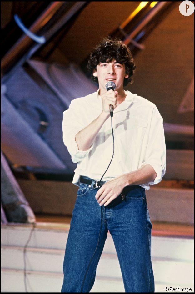Patrick Bruel en 1985.