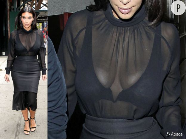 kim kardashian ses 10 tenues scandaleuses 100 transparentes puretrend. Black Bedroom Furniture Sets. Home Design Ideas