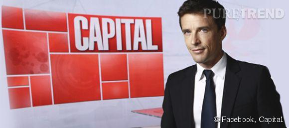 """François-Xavier Ménage est le nouveau présentateur de """"Capital""""."""