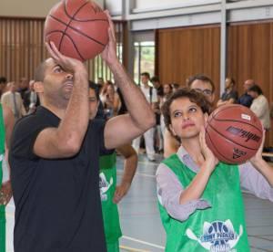 Najat Vallaud-Belkacem : Sa folle partie de basket avec Tony Parker