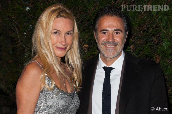 José Garcia avec sa femme Isabelle Doval en 2013.
