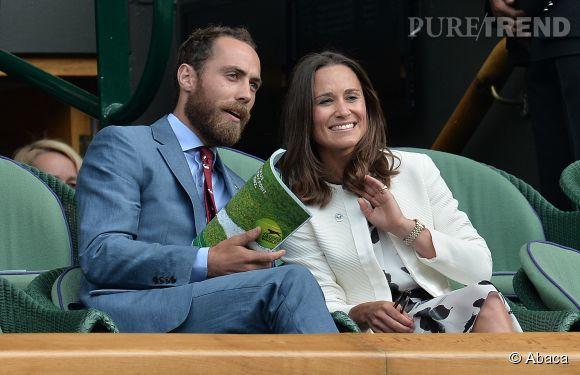 James et Pippa Middleton étaient invités à l'anniversaire du Prince George ce 22 juillet 2014 à Kensington Palace.