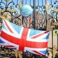 Les grilles du Palais de Kensington le 22 juillet 2014.